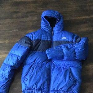North Face down jacket EUC